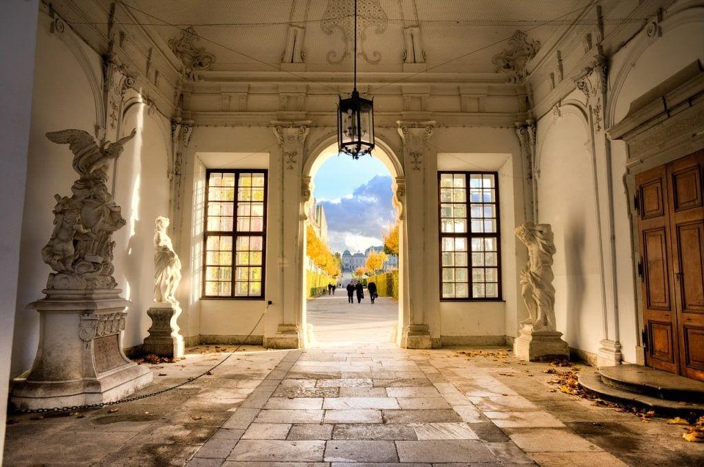 Wien - Belvedere museum by - rejser