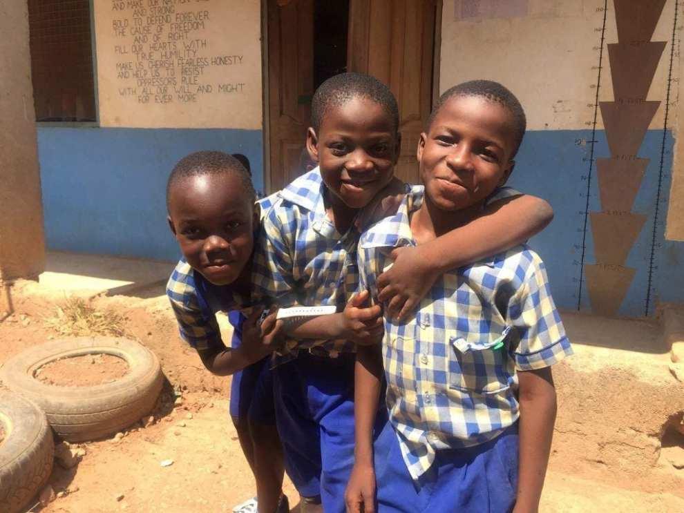 Børn - Ghana - rejser