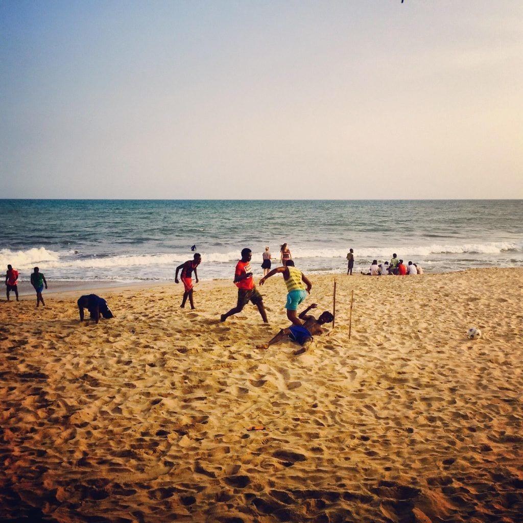 Strand - Ghana - rejser