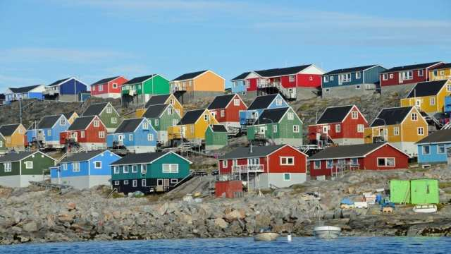 Greenland - houses - travel