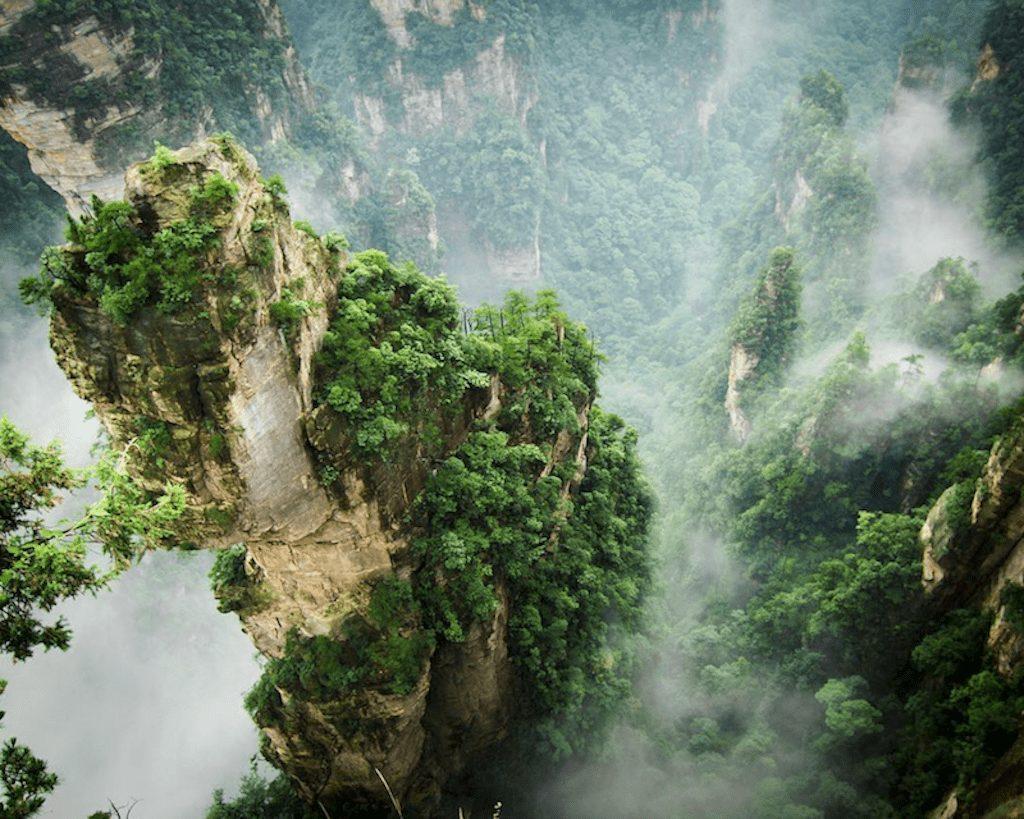 Kina - bjerge natur wulingyuan - rejser