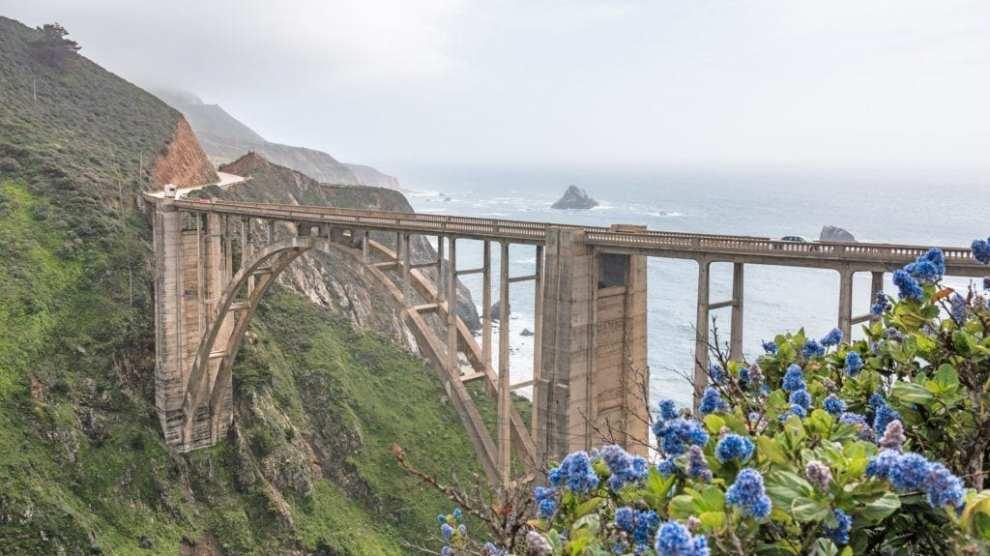 USA - coastal nature big sur - travel