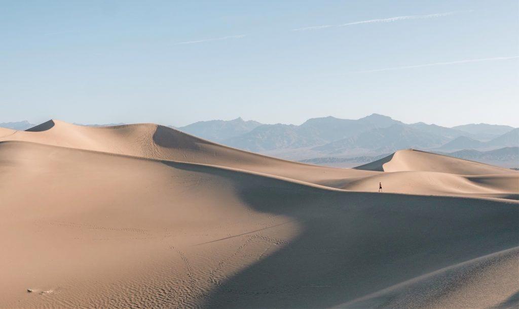 रेगिस्तान, प्रकृति, मौत की घाटी - यात्रा
