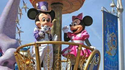 Frankrike - Paris - Disneyland - Reise