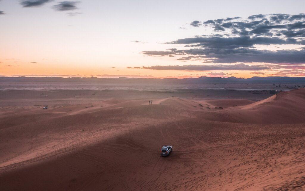 Sahara - Désert de voiture Maroc - Voyage