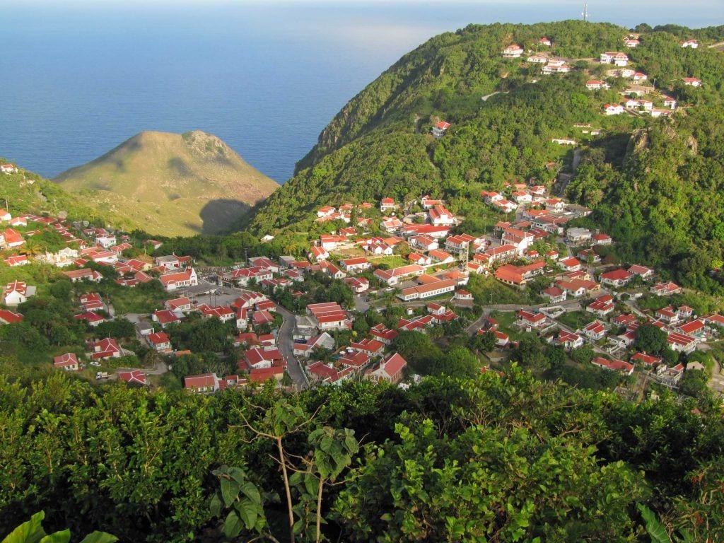 Saba - Caribien saba - bjerg - rejser