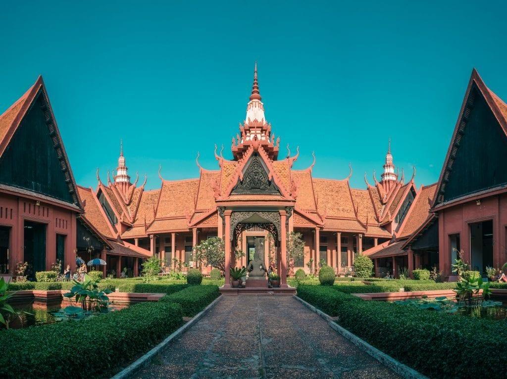 Phnom Penh - Cambodia - tempel