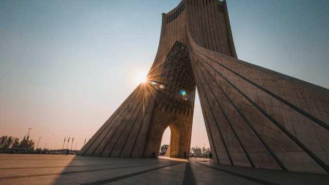 Iran - Teheran, Azadi Tower - reise