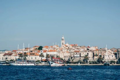 クロアチア-ダルマチア、中世の街-旅行