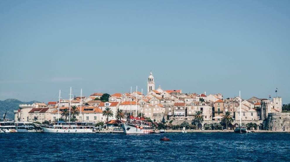 Kroatien - Dalmatien, middelalderby - rejser