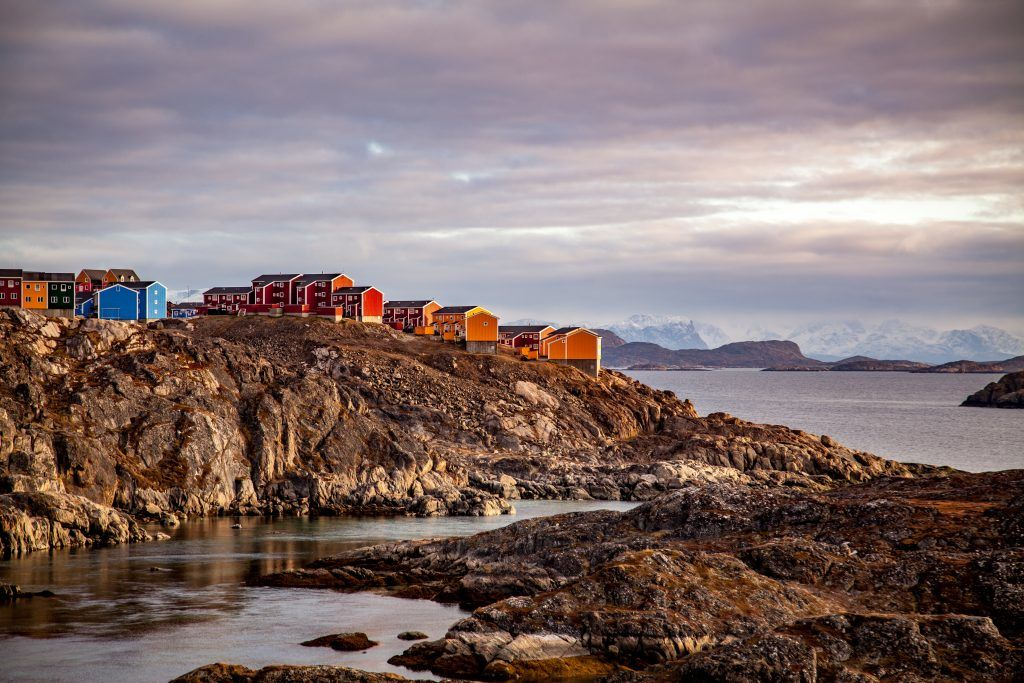 Jesper Frank - Sisimiut - rocks - Greenland