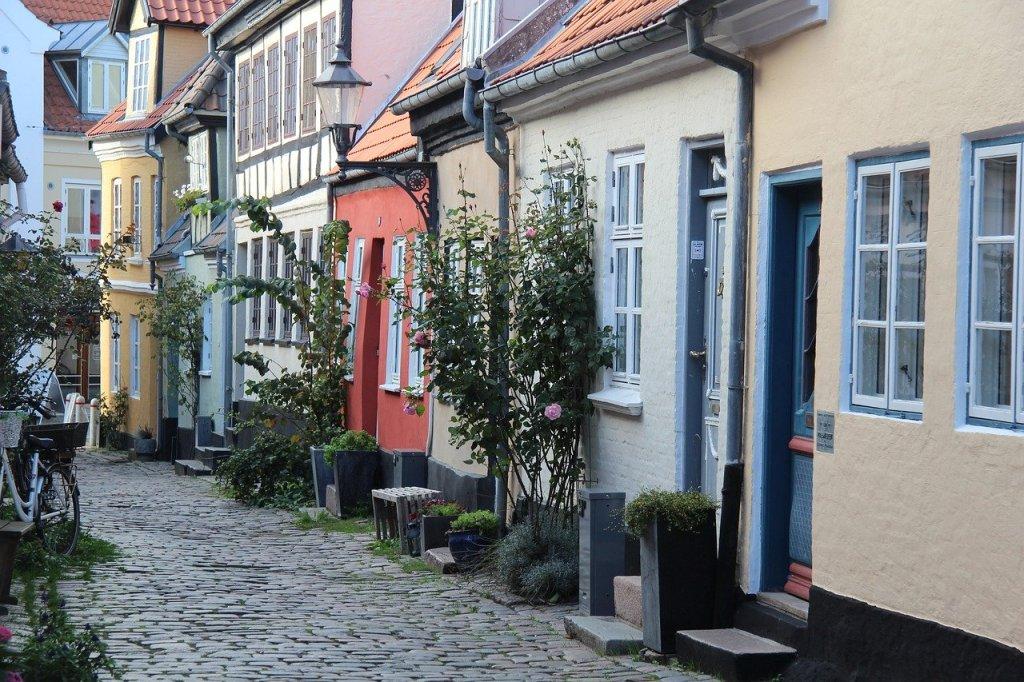 Danmark Aalborg gade rejser