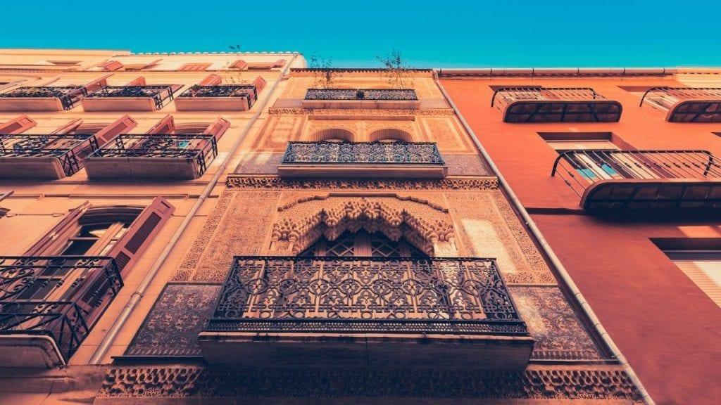 Spain building travel