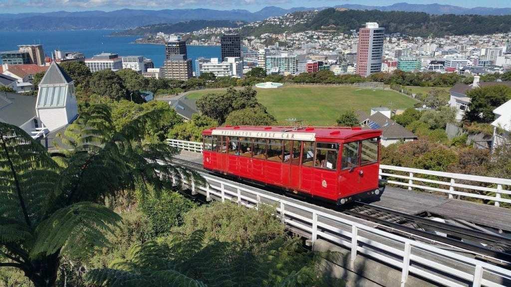 New Zealand Wellington Nordøen rejser