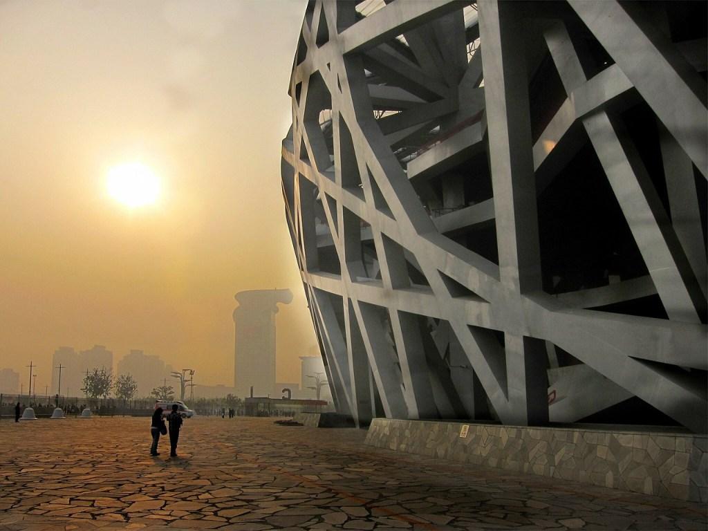 Kina - Beijing, Fuglereden, smog - rejser