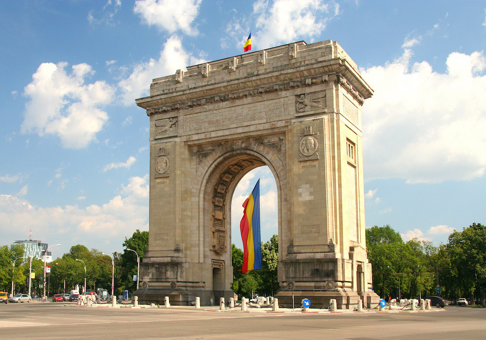 Triumphal Arch, Bukarest, Rumænien