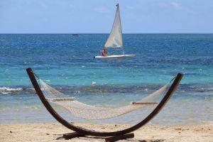 Mauritius - hængekøje, strand - rejser