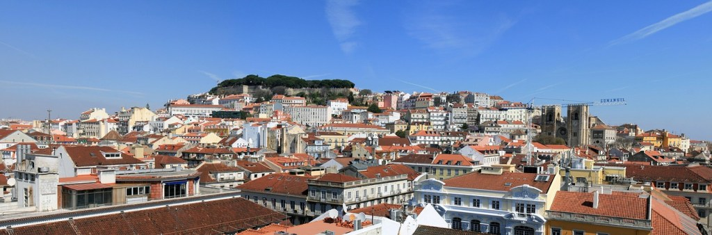 Portugal - Lissabon, skyline - rejser