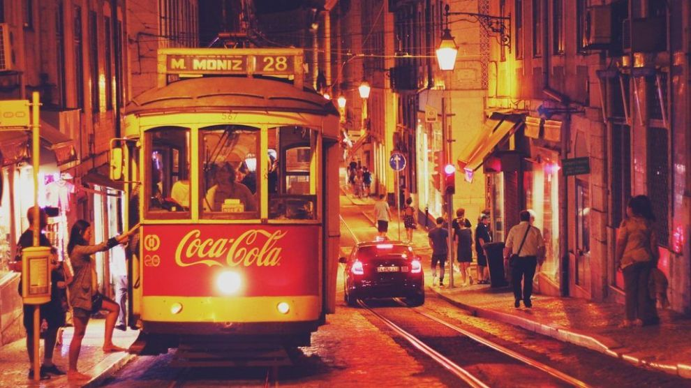 Portugal - Lisbon, tram - travel