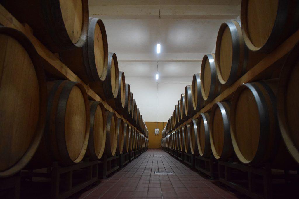 Italia - Sardinia, vinfat, vin - reise