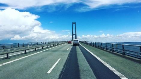 גשר אורזונד - דנמרק - שבדיה - נסיעה