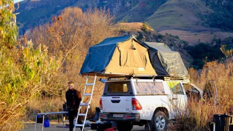 The Dragon Mountains, camping South Africa, travel