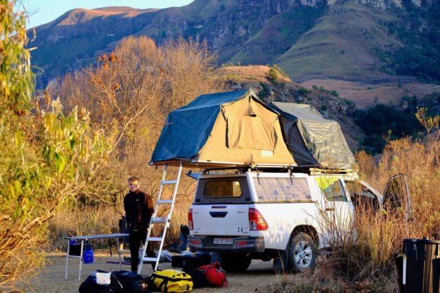 Les montagnes du dragon, camping Afrique du Sud, voyage