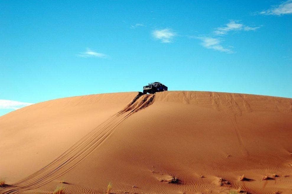 Marokko - Wüste, Autofahrt