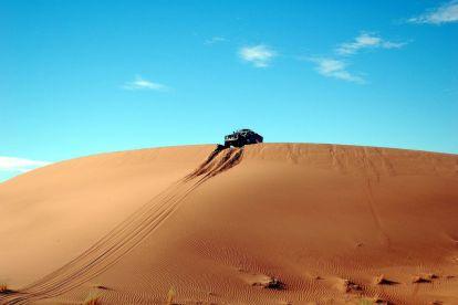 Marokko - ørken, bil - rejser