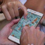 Telefon - smartphone - rejser