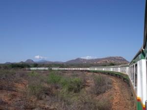 Mga Tren - Kenya - paglalakbay