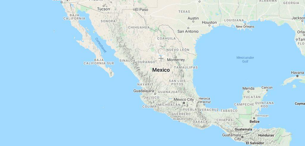 mexico kort