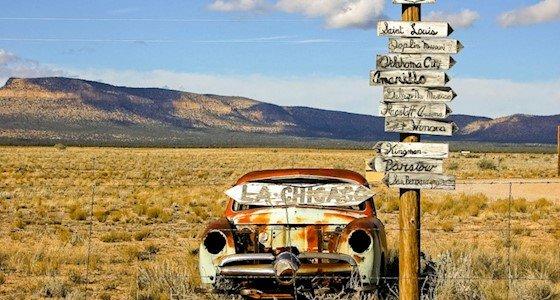 """כביש 66, ארה""""ב, נסיעה"""