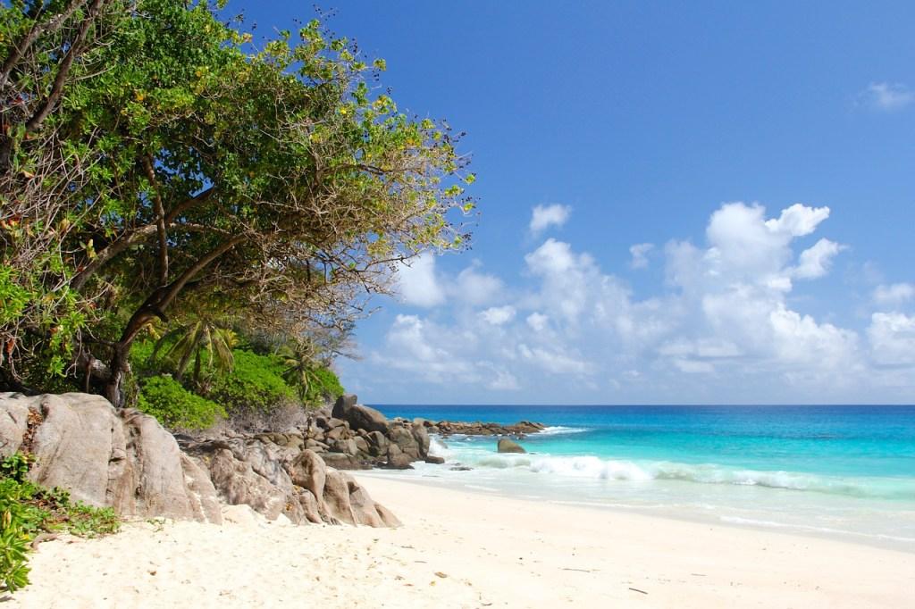 seychelles, beach