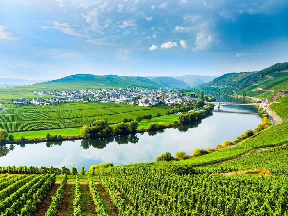 tyskland, flod, rhinen