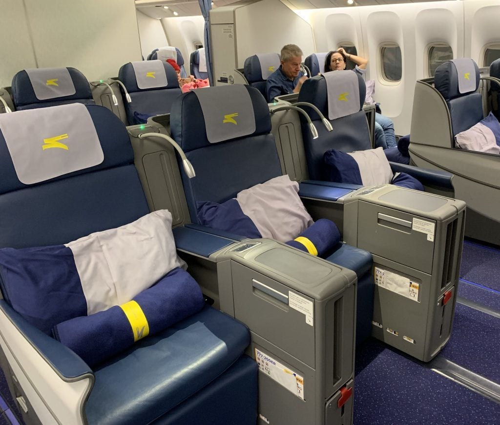 Ukraine international airlines - business class - fly check-in - rejser