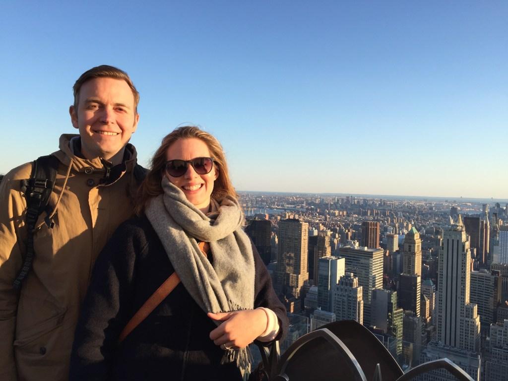 Kristian i New York