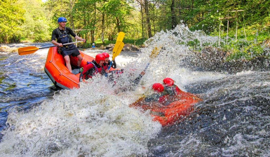 Wales - River Rafting - rejser