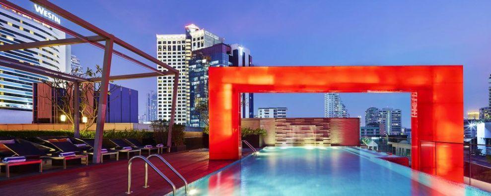 Thailand - bangkok - hotel sheraton four points - rejser