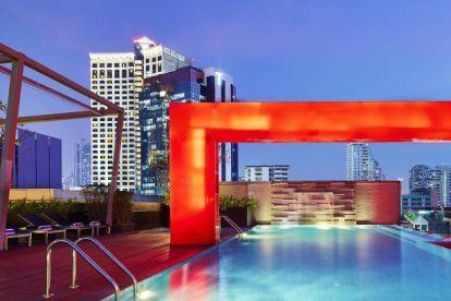 タイ-バンコク-ホテルシェラトンフォーポイント-旅行