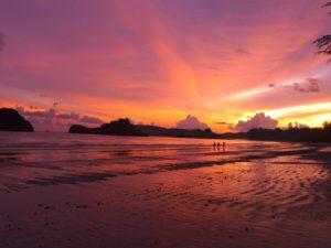 Thailand - Ao Nang - Krabi - Strand - solnedgang - rejser