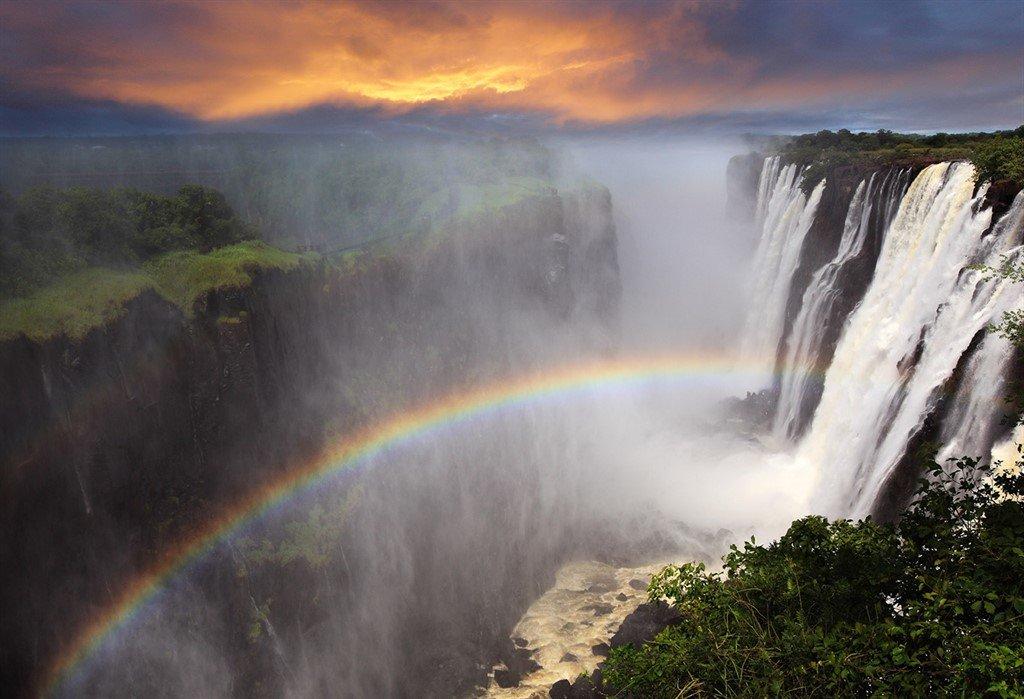 Victoria Falls - Zimbabwe - Zambia - rejser