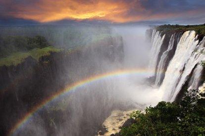 Victoria Falls, Sud Africa - viaggio
