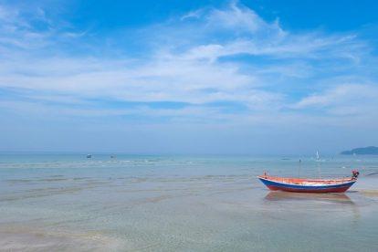 Thailand - strand - båd