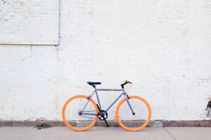 Cykel Lilla Orange - Rejser