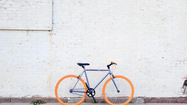 Bicycle Purple Orange - Travel