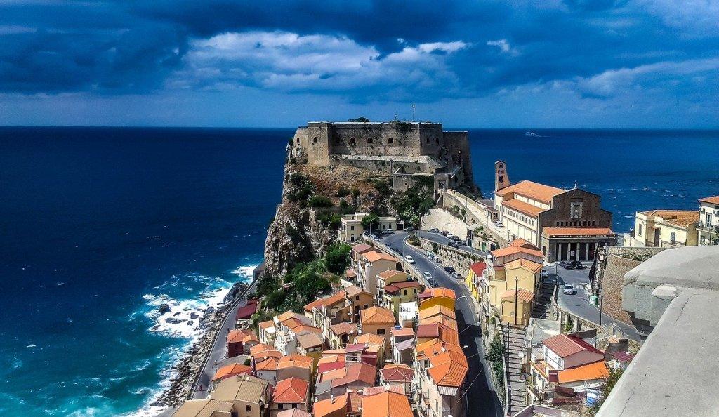 Italia Calabria Scilla travel