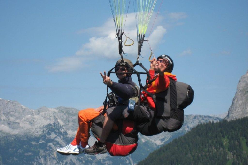Østrig - Flachau - paragliding - rejser