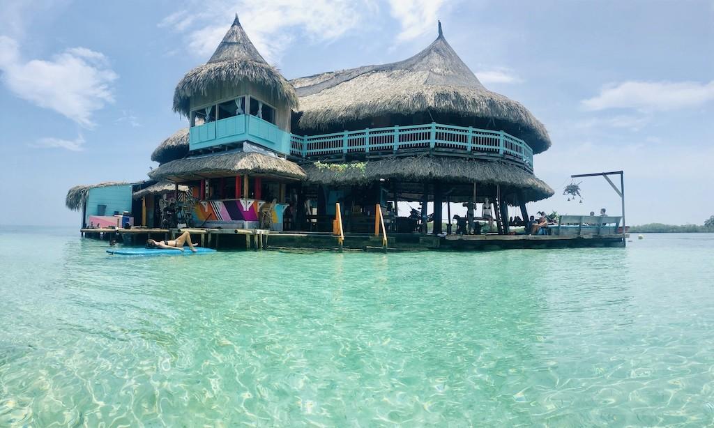 Colombia Casa en el agua Cartagena Rejser - Juan Les Pins
