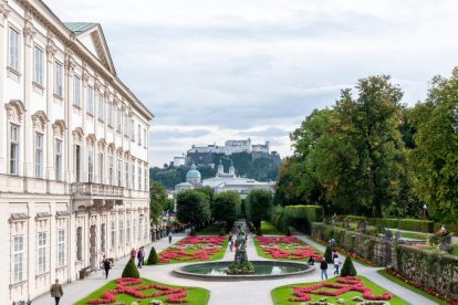 Østrig - Salzburg, have, Oplev Salzburg - rejser